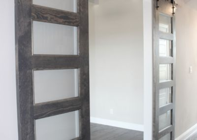 Barn Doors to Home Office