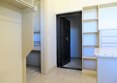 Master Closet with Safe Room