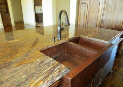 Kitchen - Exotic Granite with Farm Sink